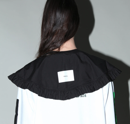 KkCo Detached Prairie Collar - Black