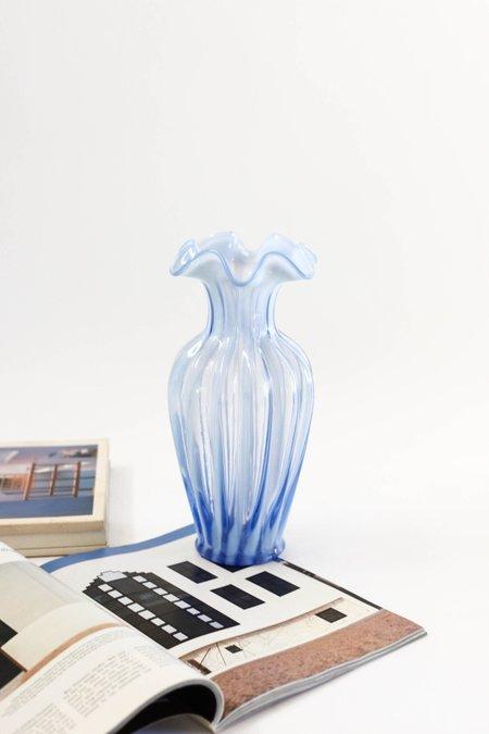 Vintage Opalescent Murano Vase