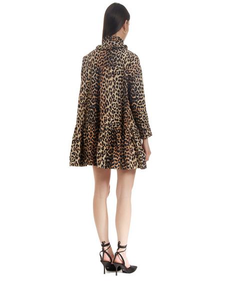 Ganni Short Flared Dress - Multicolor