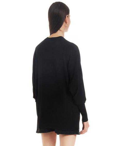 Kenzo Sweater with Print - Black