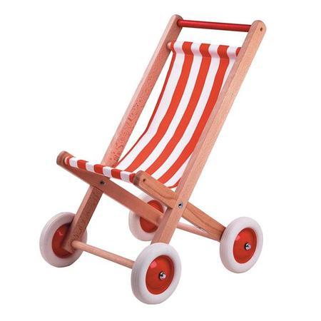 Kids Egmont Doll Stroller Chair - Red
