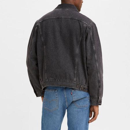 Levi's Premium At Work Trucker Sean Trucker Jacket - Black