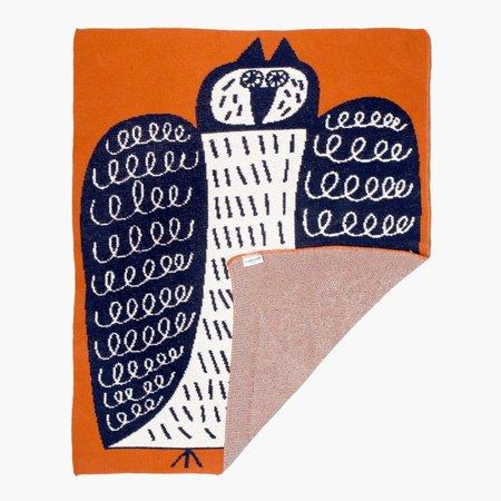 Kids Slowdown Studio Night Owl Mini Blanket