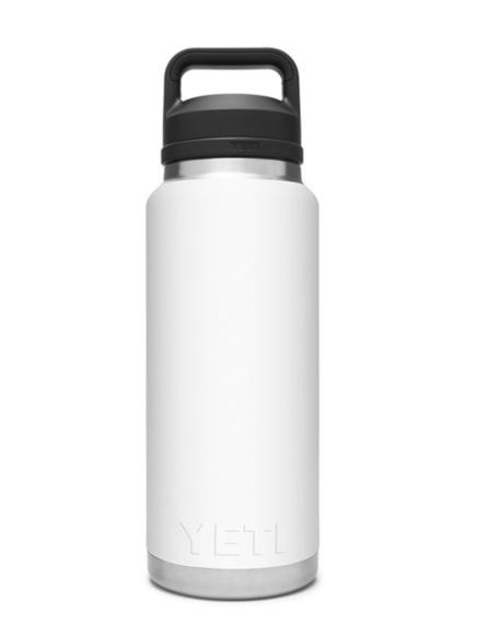 Yeti Rambler 36 oz. Bottle With Chug Cap - White