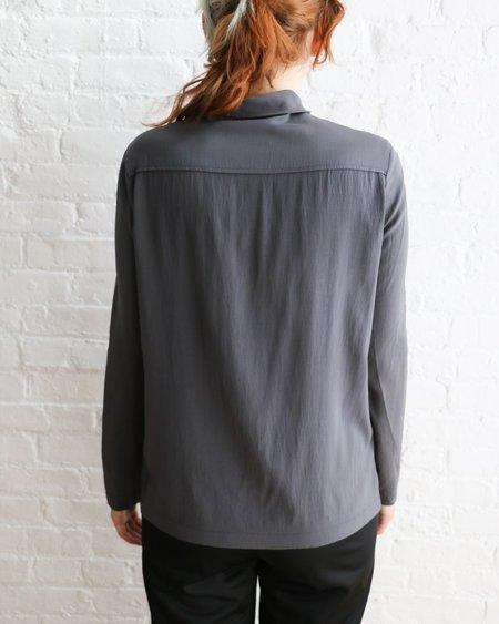 [Pre-loved] Brunello Cucinelli Embellished Silk Blouse