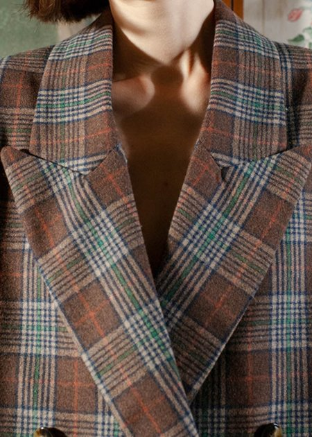 Momoni Fluorite Jacket - brown