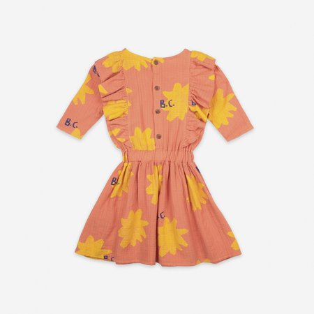 Kids Bobo Choses Sparkle Dress - Melon