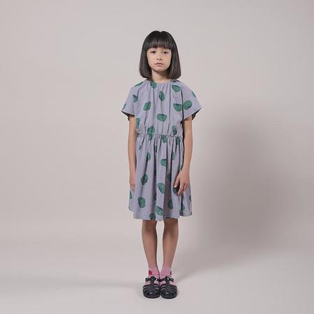 Kids Bobo Choses Dress With All Over Tomato Print - Purple