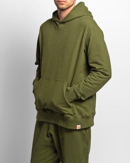 Bather hooded sweatshirt - Olive