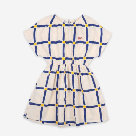 Kids Bobo Choses Cube All Over Woven Dress