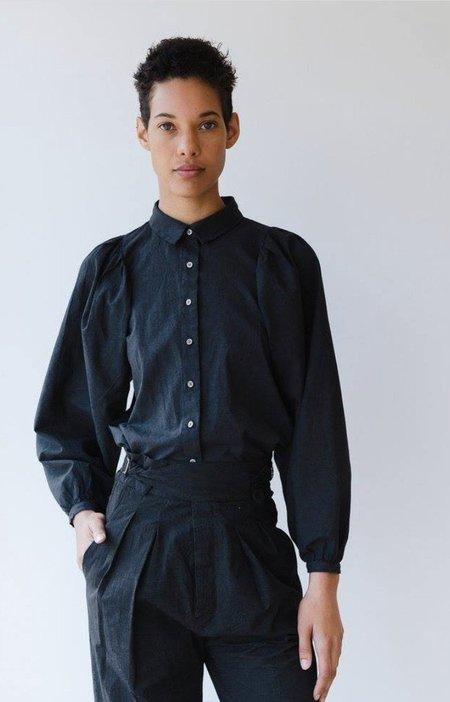 Caron Callahan Alastair Shirt - Charcoal
