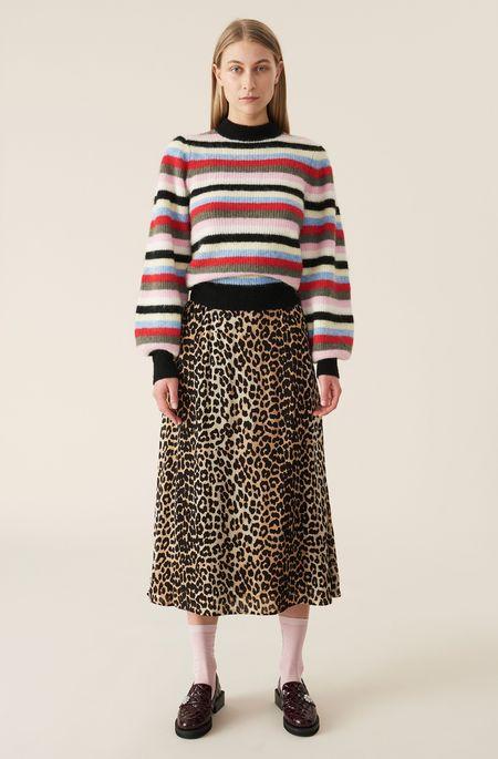 Ganni Skirt - Leopard