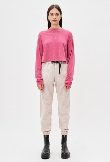 John Elliott Belted Summit Pant - Crystal