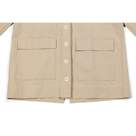 Ilana Kohn Mabel Cotton/Linen Jacket - Oat