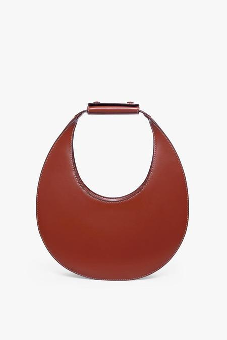 STAUD Moon Bag - Cognac