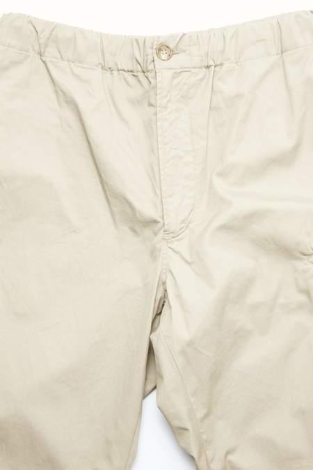 Engineered Garments High Count Twill Drawstring Pant - Khaki