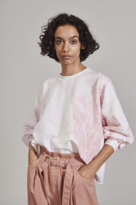 Rachel Comey Fond Sweatshirt - Lilac Marble