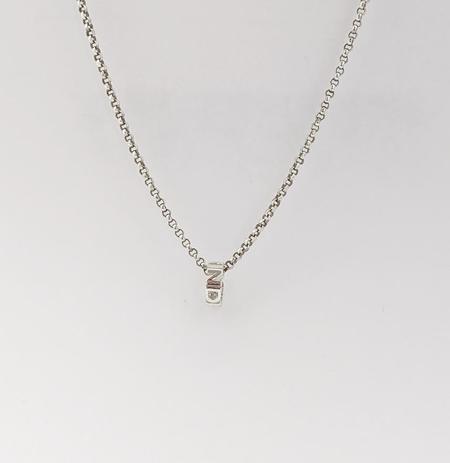 To Be Collected Kindness Necklace - silver