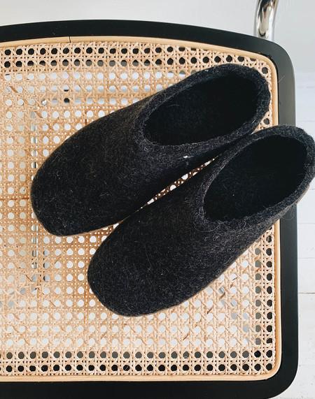 Glerups Wool Adult Boots - Charcoal