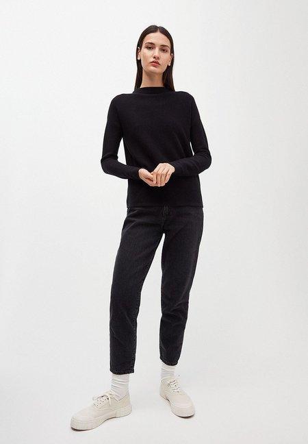 Armedangels MEDINAA Sweater made of Organic Cotton Sweater - Black
