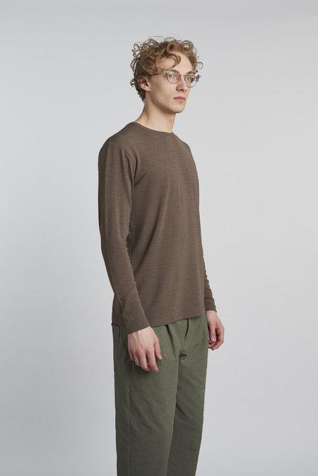 Delikatessen Finest Soft Italian Wool Long Sleeve Sweatshirt