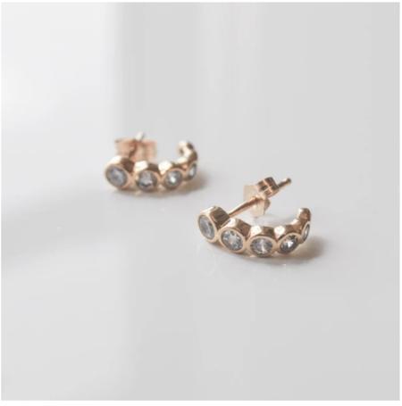 Thatch Astrid Huggie Hoop Earrings