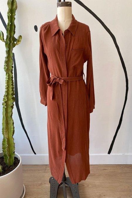 Whimsy + Row Sample Sale Zoe Dress - Sienna
