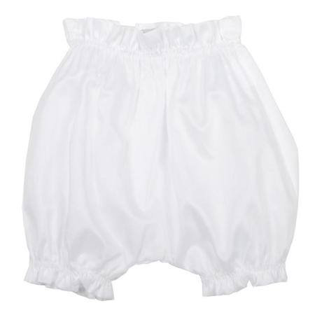 Kids Makie Swiss Cotton Bloomers - White