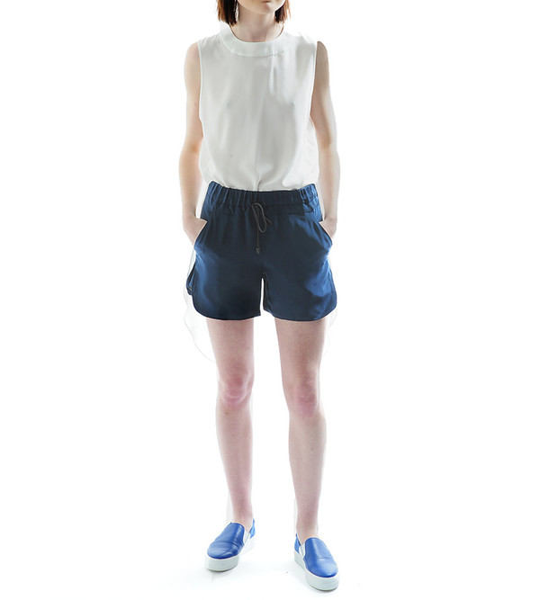 Public School Navy Boxer Shorts