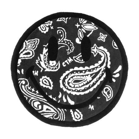 Chinatown Market Smiley Paisley Rug - Black