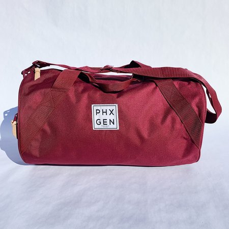 Unisex Phoenix General Duffle Bag - Burgundy