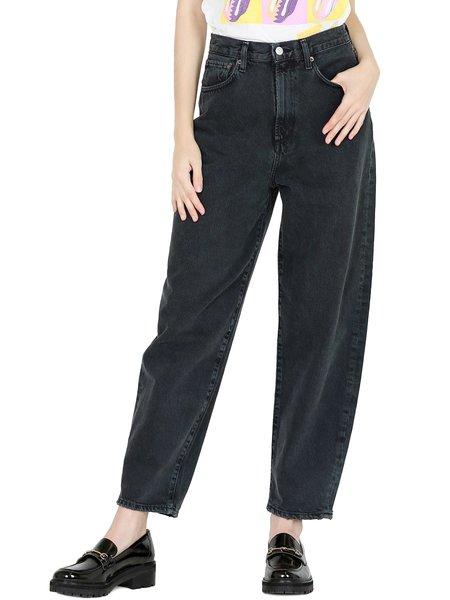 AGOLDE Balloon Jeans - Black Tea