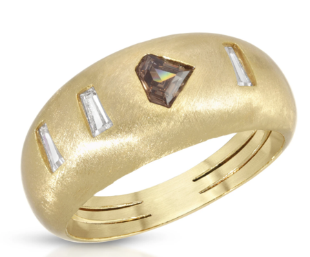 LADYBIRD Goldie Ring - Quartz