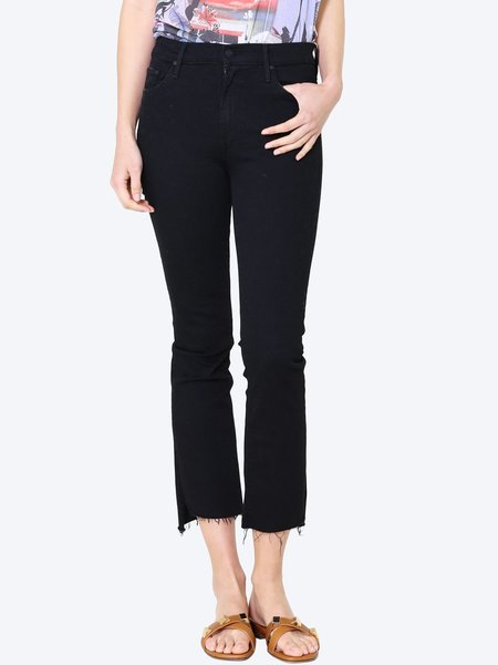 Mother Denim MOTHER Insider Crop Step Fray Jeans - Not Guilty