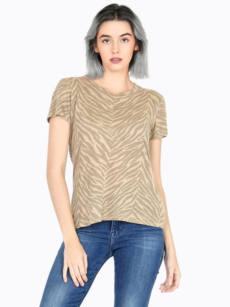 Mother Denim MOTHER The Lil Sinful Tee - Sweet Stripes