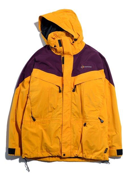 "Vintage MOONSTONE ""Gore-Tex Shell Jacket - Yellow/Purple"