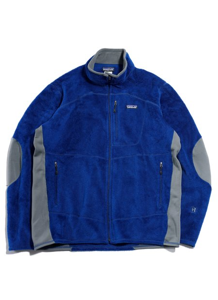 "Vintage Patagonia ""R2 Zip Fleece Jacket - Blue/Gray"