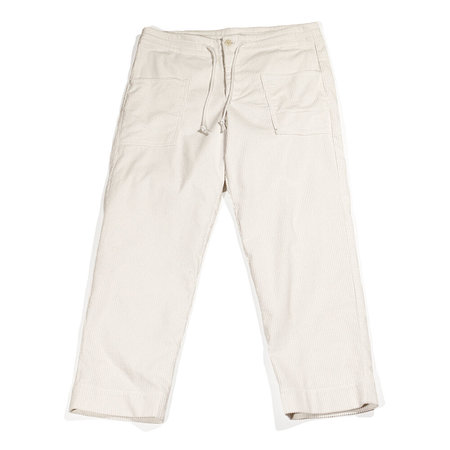 Unisex Blluemade Cotton Corduroy Patch Pant - Snow