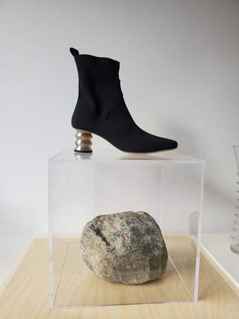 Nomia Binx Boot with Steel ZZ - Matte Black