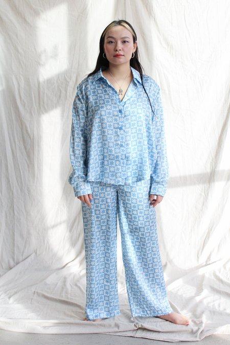 Lisa Says Gah Bailey PJ Pant - blue