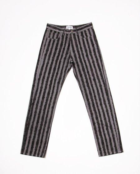 Kenzo Striped Jean - Gray