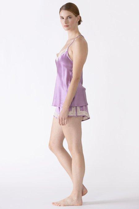 NK IMODE Gardenia T-Back Lace Silk Camisole