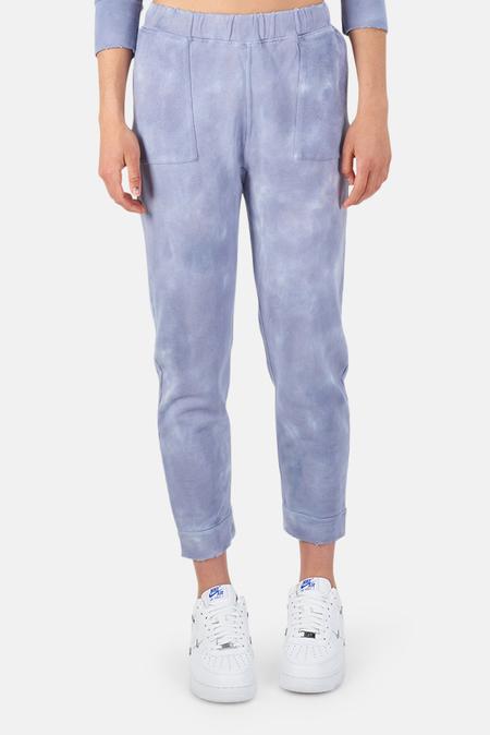 LoveShackFancy Blex Pants - Washed Denim