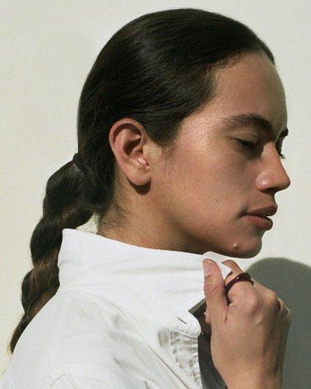Tiana Marie Combes Roman Ring - Garnet