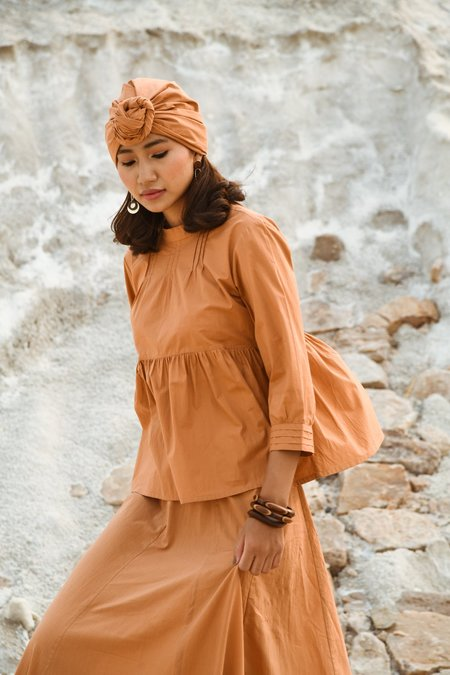 Little Tienda Dunes Elke blouse - brown