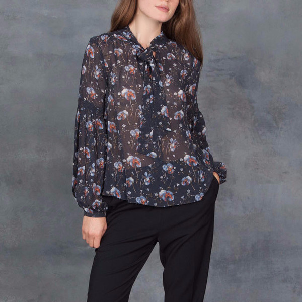 Ulla Johnson Mimi Blouse Patchwork French Floral