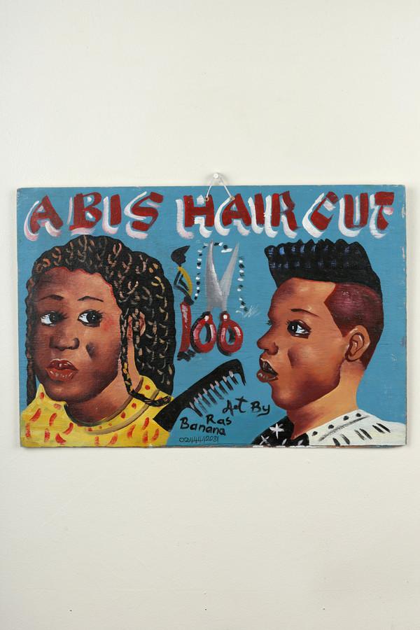 Osei-Duro Barbering sign #4