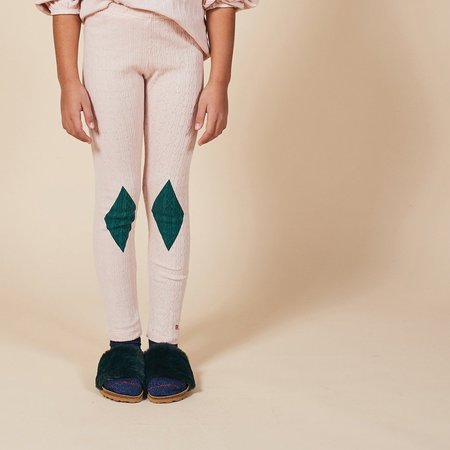 kids Bobo Choses Diamond Leggings - green