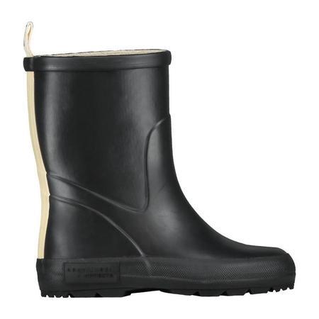 gray label x novesta rain boots - nearly black