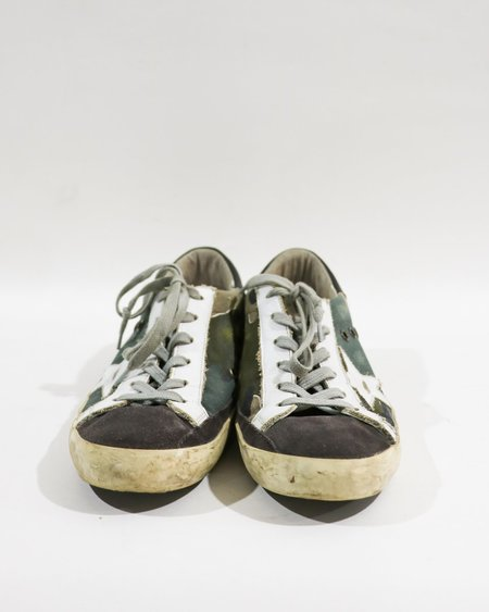 [pre-loved] Golden Goose Superstar Camouflage Low-Top Sneakers - Camouflaged